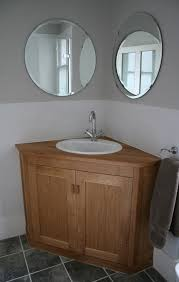 corner bathroom vanity ideas outstanding corner bathroom vanity ideas with drop in single bowl