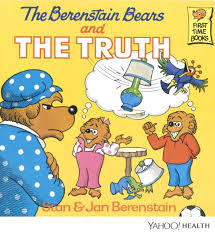 your whole is a lie it s berenstain bears not berenstein bears