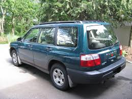 subaru green forester 2001 subaru forester u2013 pictures information and specs auto