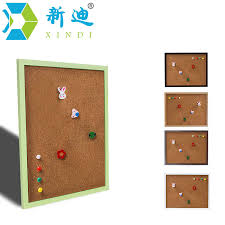pin boards aliexpress buy xindi 5 colors mdf frame bulletin cork board