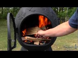 Blue Rooster Chiminea Review Best Cast Iron Outdoor Chiminea Reviews 2014 With Images