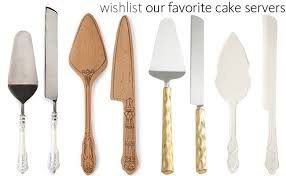 shop the best wedding cake knives and servers