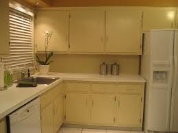 simple kitchen interior u shaped brown polished mahogany wood kitchen cabinet using white