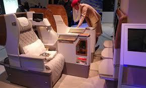 siege emirates emirates présente nouveau siège de classe affaires sur 777