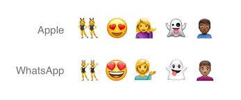android new emoji whatsapp s new universal emoji set looks familiar