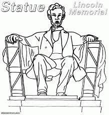 gorgeous design lincoln memorial coloring page top 10 abraham