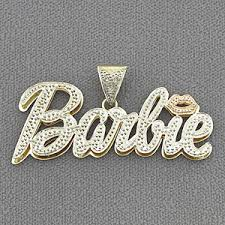 brand name necklace images Gold personalized nicki minaj barbie name pendant necklace jpg