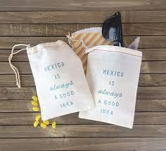 destination wedding favors mexico is always a idea bachelorette hangover kit