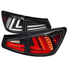 lexus is250 jdm tail lights d tuning lt is25006jmled tm lexus is250 led tail lights black 06 08