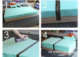 How To Make An Ottoman From A Coffee Table Coffee Table Turned To Design Ikea Lack Side Tables Ottomans How