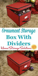 decoration storing ornaments decorations storage boxes large