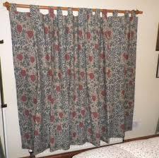Curtains Co Vintage Sanderson Lined Cotton Tab Top Curtains U0027vine U0027 William