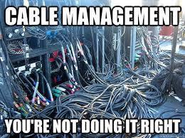 Cable Meme - konnektik cable management facebook
