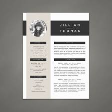 Template Resume Design Professional Resume Template And Cover Letter Template For Word