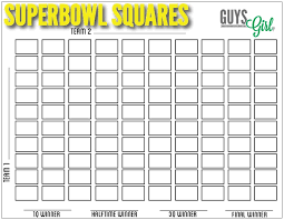 football squares free download for your super bowl party