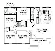 small 4 bedroom floor plans small 4 bedroom house plans iocb info