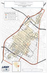 Map Of Downtown Los Angeles by Downtown La Express Park Rate Changes April 4 2016 La Express Park