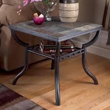 ashley antigo slate dining table signature design ashley antigo slate top square end table inside