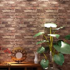 wholesale vintage natural brick wallpaper 3d effect realistic faux