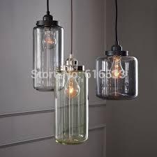 Edison Pendant Light Vintage Loft Industrial American Lustre Glass Jar Edison Pendant