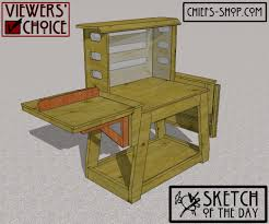 sketch of the day miter saw stand chief u0027s shop