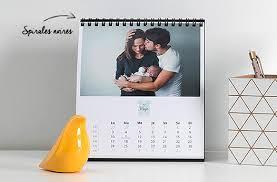 calendrier de bureau photo calendrier photo pas cher optez pour le calendrier bureau mensuel