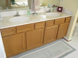 painting bathroom vanity featuring bathroom cabinet doors painting