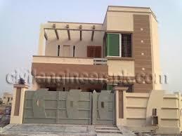 3d Home Design 5 Marla Front Views Civil Engineers Pk