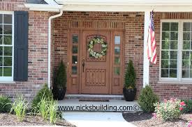 front door color for orange brick house google search u2026 pinteres u2026