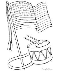 flag printable coloring home