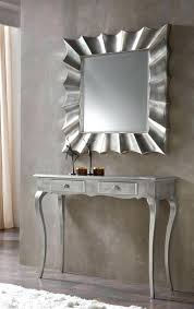 modern console table decor modern console table and mirror gray foyer mirror over white console
