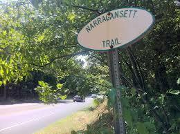 jeep trail sign narragansett trail wikipedia