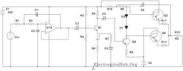 100w subwoofer lifier circuit diagram working and applications