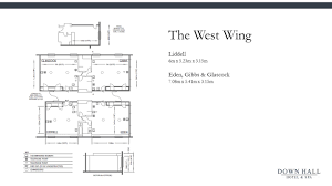 West Wing Floor Plan Capacity U0026 Floorplans Down Hall Hotel And Spa