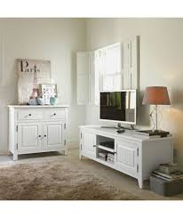 buy heart of house cambria tv stand white solid wood at argos co