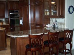 custom kitchen cabinetry with breakfast bar c u0026 l design