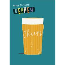 birthday cards for nephew nephew happy birthday card from ocado