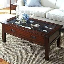 glass shadow box coffee table shadow box coffee table like this item shadow box coffee table diy