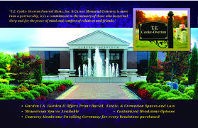 Comfort Funeral Home T E Cooke Overton Funeral Home U0026 Carver Memorial Cemetery