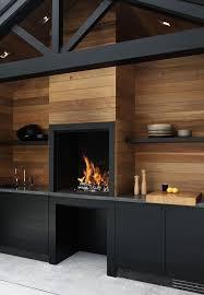 cuisine mur noir 1001 idées cuisine noir mat et bois élégance et sobriété