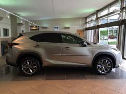 lexus sport nx getting my nx f sport in atomic silver today clublexus lexus