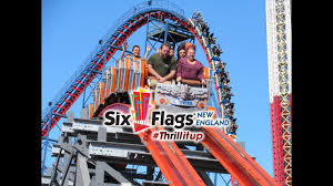 San Diego Six Flags Six Flags New England Vlog Featuring Fright Fest Youtube