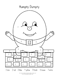 humpty dumpty coloring page coloring pages for kids and for