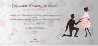 engagement ceremony invitation how to make engagement invitation cards paperinvite