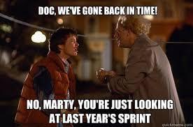 Back To The Future Meme - back to the future repost memes quickmeme