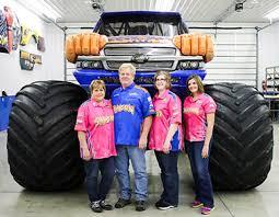 samson monster truck merchandise shirts radio interviews tv