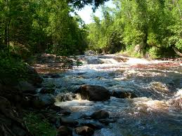 Temperance River State Park Map Hike From Caribou Falls State Wayside To Lutsen Hike Sht