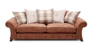 Nubuck Leather Sofa Woodland Express 4 Seater Pillow Back Sofa Oakland Dfs