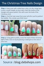 the christmas tree nails design jpg