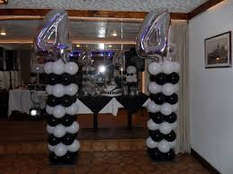 Columns For Party Decorations White Silver And Black Party Decorations By Teresa